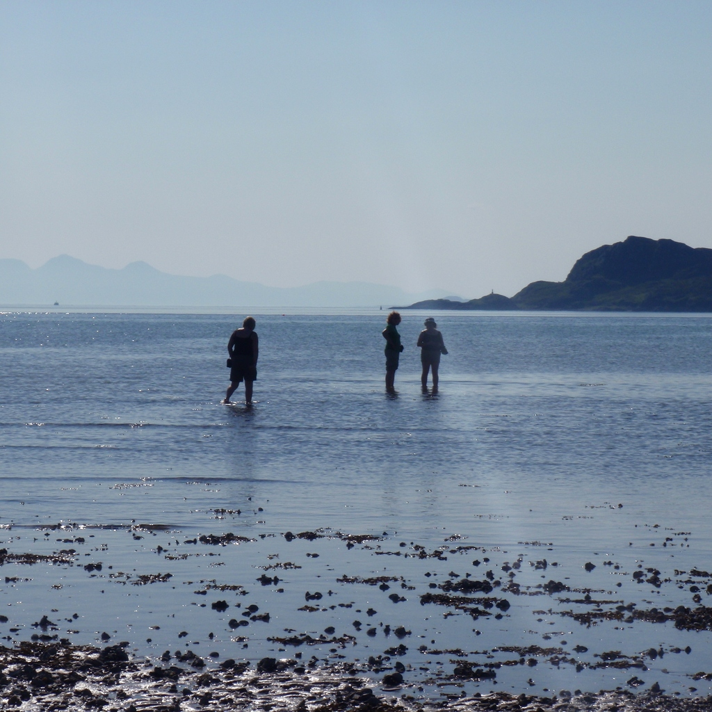 Paddling Inverie