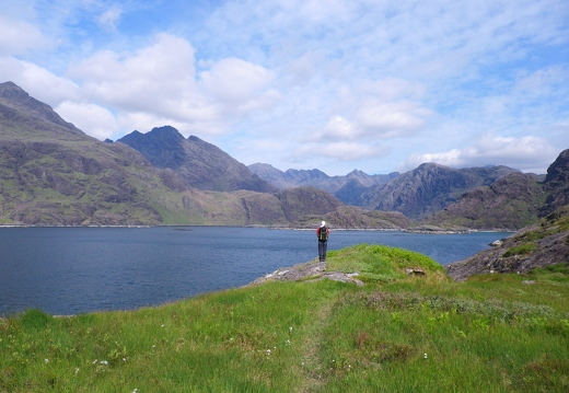 Doing the Dubhs - The Cuillin - 01/06/12