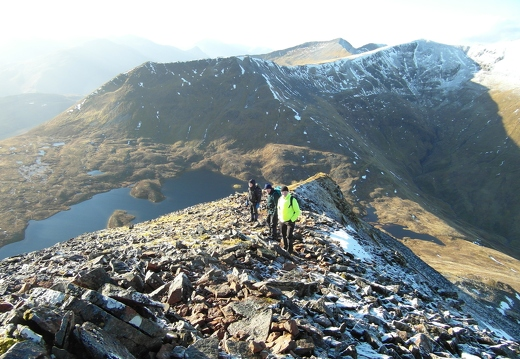 Auld Gits in the Mamores Midweek