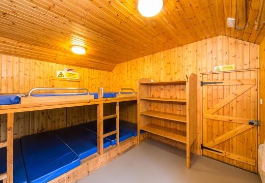 The 'Auld Kitchen' dorm (10 folks, alpine bunks)