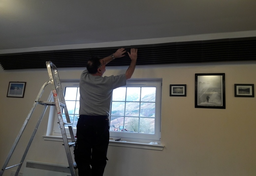 Sound Dampening Tiles Fitted
