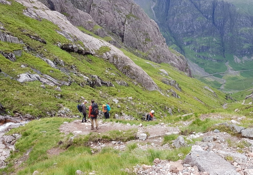 Aonach Dubh,6th July : Cottage New Members' Meet